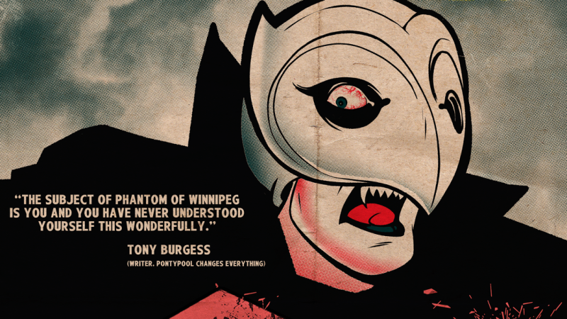 phantom of winnipeg poster